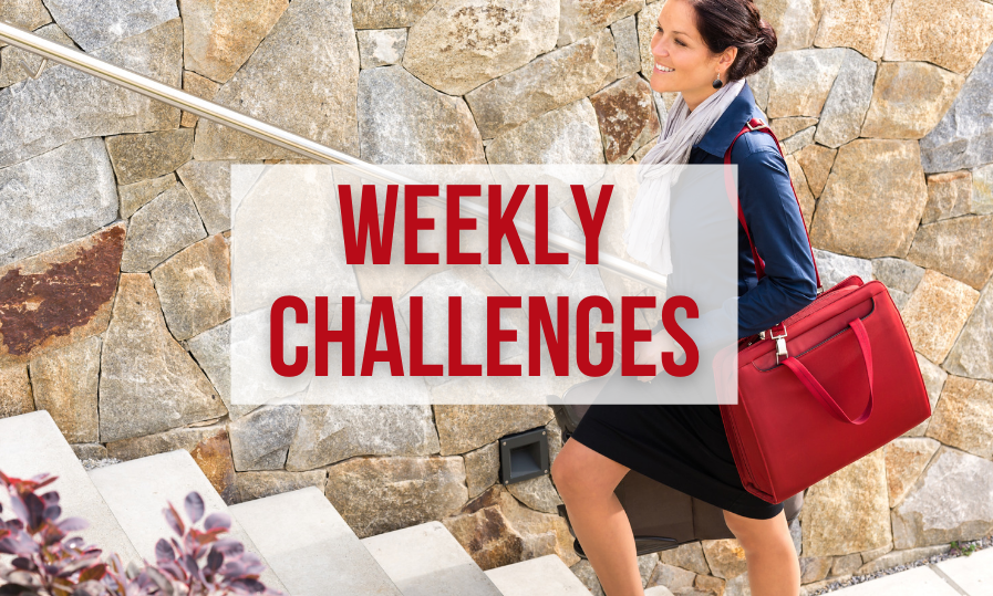 """weekly challenges at women in ecommerce"""